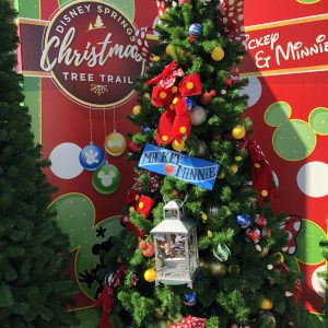 we were lucky enough to experience the christmas tree trail and were able to meet santa at disney springs in mid november we loved it