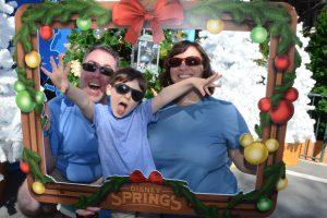 Family time at Walt Disney World Disney Springs