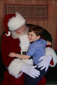 Meeting Santa at Walt Disney World
