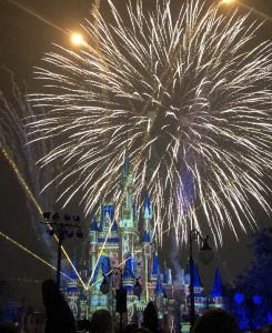 Fireworks at Magic Kingdom