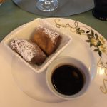 Gluten free Beignets aboard the Disney Wonder in Tiana's Place