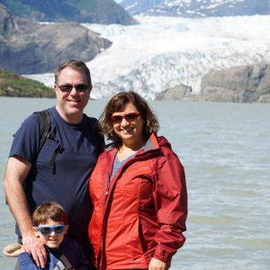 Mendenhall Lake and the Mendenhall Glacier