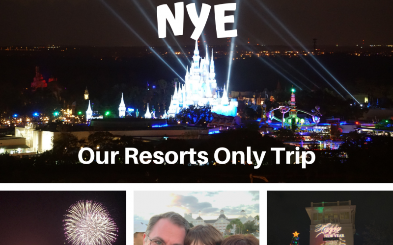 A Resorts only Trip to WDW for NYE.