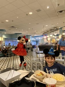 Dining at WDW during the pandemic